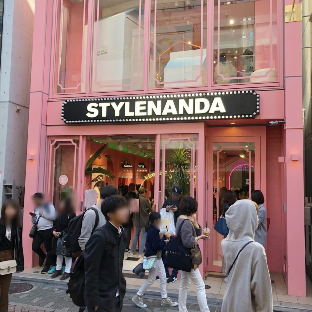 STYLENANDA(スタイルナンダ)の入口