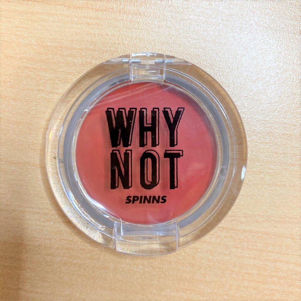 ダイソー  WHY NOT SPINNS  クリームチークの商品画像
